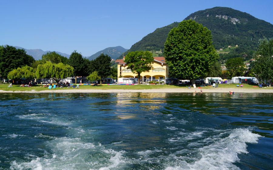 Camping Village Gefara , Domaso Comomeer - Domaso lago di Como